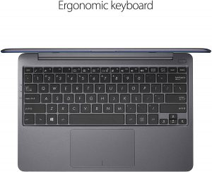 Asus VivoBook L203MA-DS04 Laptop keyboard and trackpad come with 1.6mm key travel which ensures supreme typing comfort.