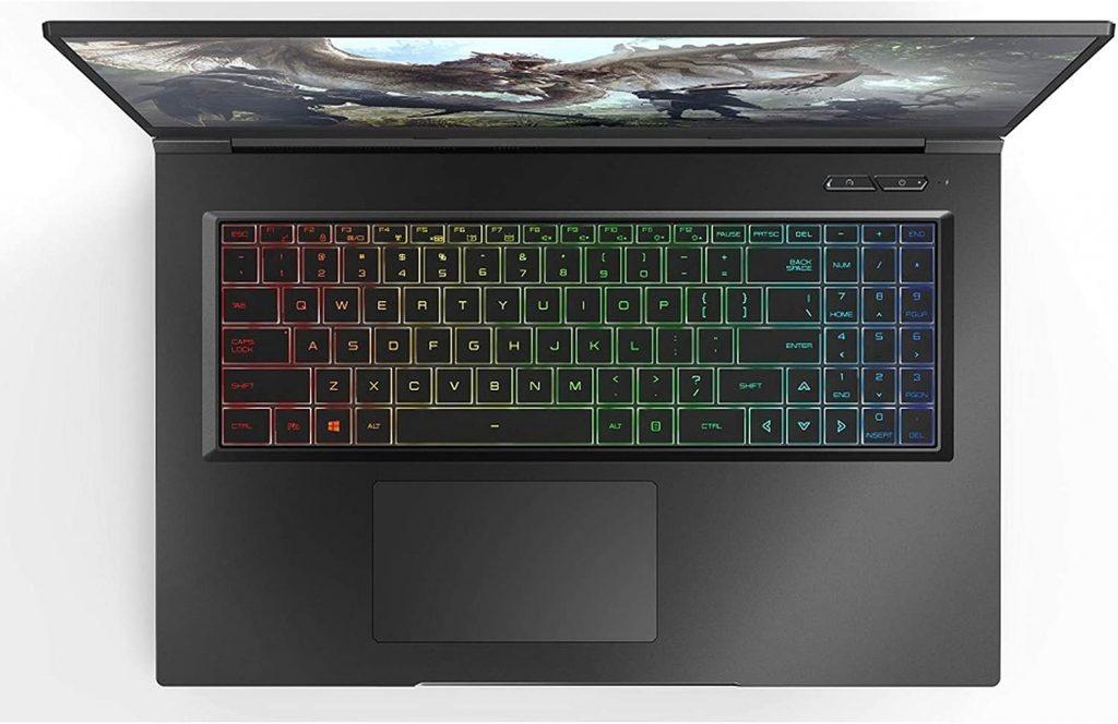 Eluktronics Keyboard and Trackpad