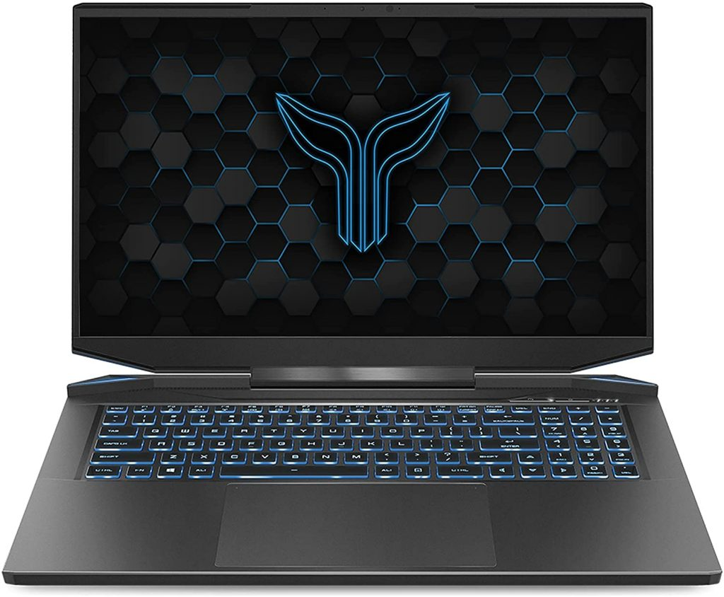 Eluktronics Prometheus XVII Covert Gamer laptop display