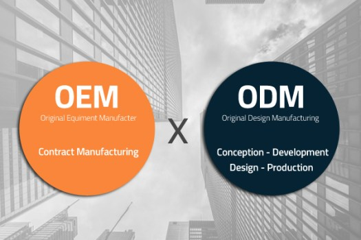 Find the difference between OEM and ODM